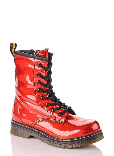 Sothe Shoes Bot Kırmızı